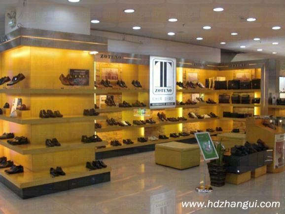 鞋柜展厅效果设计