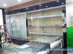 上海海烟展柜黑色